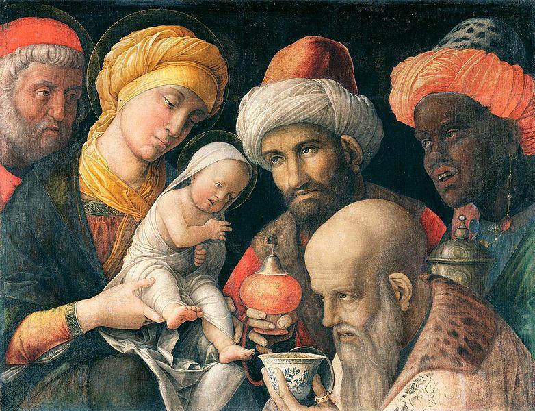 A Adoração dos Magos - A. Mantegna